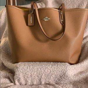 Coach Tote with attached bag